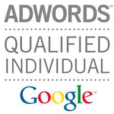 Sello de cualificación de agencia de Google Adwords para marketing online SEM